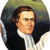Portrait of David Brainerd (detail of The History of American Evangelism)