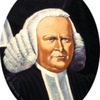 Portrait of George Whitefield (detail of The History of American Evangelism)