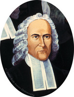Portrait of Jonathan Edwards (detail of The History of American Evangelism)